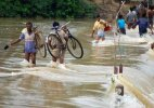 West Bengal flood situation grim, CM monitors situation at control room