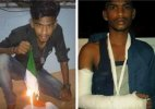 Tamil nadu Man faces grim consequences of burning Indian Flag