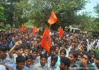 Several injured as police lathicharge ABVP protesters in Bihar