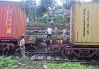 Goods train derails near Nashik