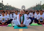 International Yoga Day: Millions of people bend and twist their bodies as India leads the way