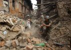 #NepalDevastated: Rescuers dig for survivors, death toll surpasses 2300-mark