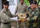 Indian, Pakistani armies exchange sweets on LoC