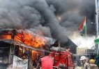 Fire in Kolkata's heritage new market