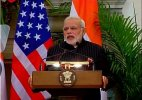 Full text of PM's speech during joint press interaction with US President Barack Obama