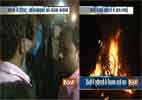 UPSC protests turn ugly, aspirants burn vehicles in North Delhi