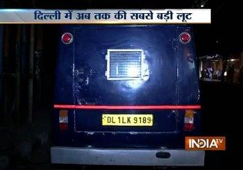 Biggest heist in Delhi-NCR: Cash van driver flees with Rs 22.5 cr