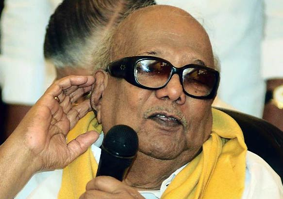 BJP Demands Karunanidhi's Resignation
