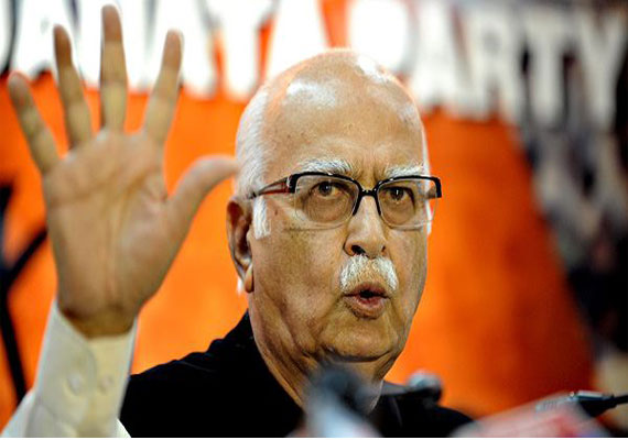 BJP will score a hat-trick in Gujarat, claims Advani