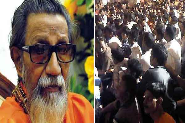 Bal Thackeray improving, crowds dimini