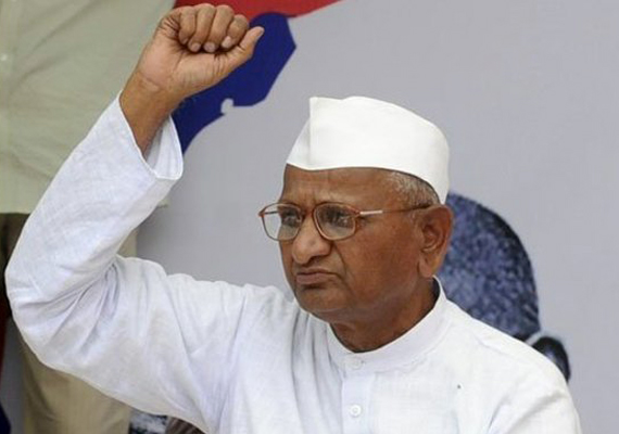 Cannot trust PM, Sonia to bring stringent Lokpal bill : Anna
