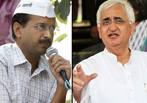 Kejriwal's demand for Khurshid's Resignation rejected by Congress