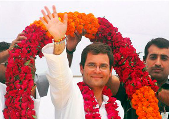 Congress a funny party, quips Rahul