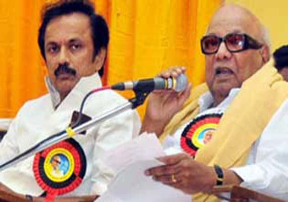 DMK chief Karunanidhi finally names Stalin his political successor