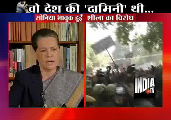 Delhi gangrape: Sonia Gandhi vows  swift, fitting punishment to rapists