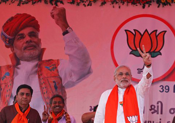 Gujarat poll: Modi sticks to development agenda