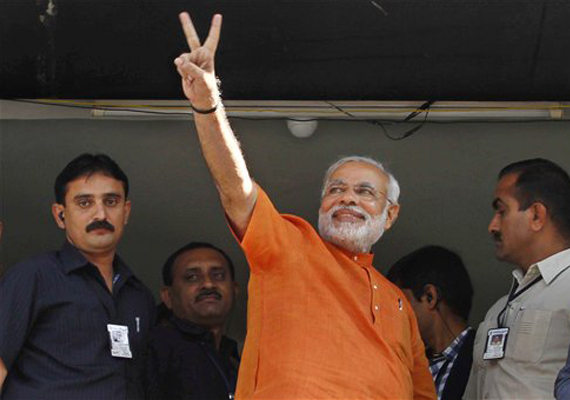 Gujarat set for vote count, BJP confident