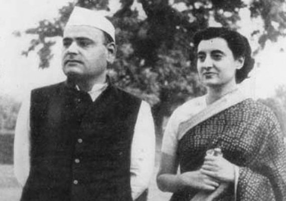 Jab They Met: Feroze and Indira Gandhi