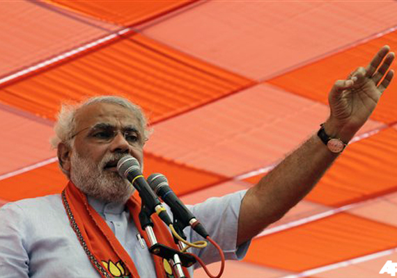India TV and C-voter opinion poll: Modi all set to score a hat-trick in Gujarat polls