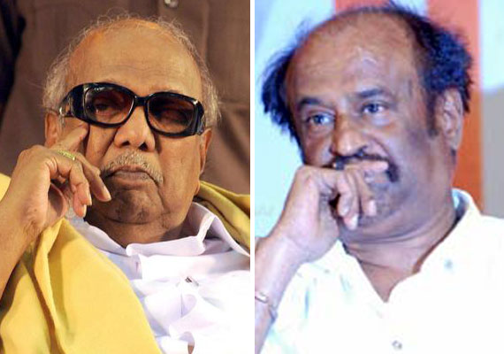 Karunanidhi, Rajinikanth condole Thackeray's death