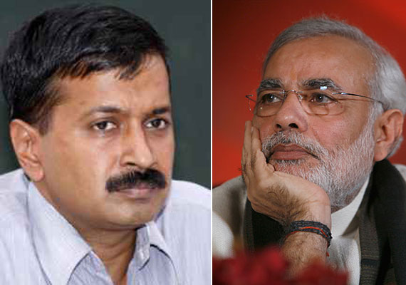 Kejriwal alleges, Narendra Modi favoured select corporates, Adanis deny
