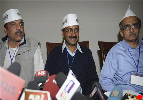 Kejriwal promises jail for corrupt politicia