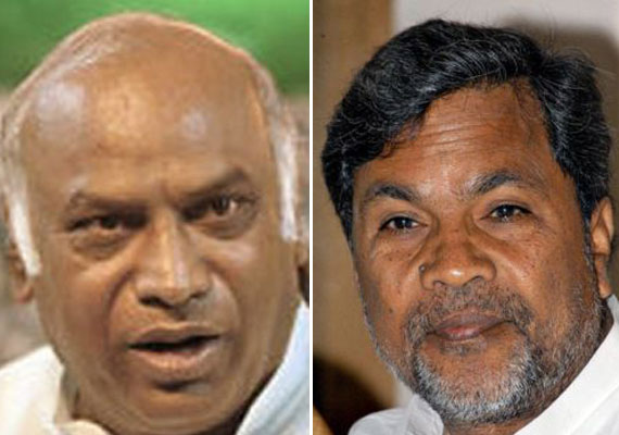 Kharge, Siddaramaiah in race for Karnataka CM post