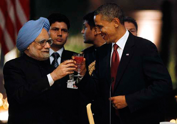 Obama and Manmohan Singh: A study in contrast