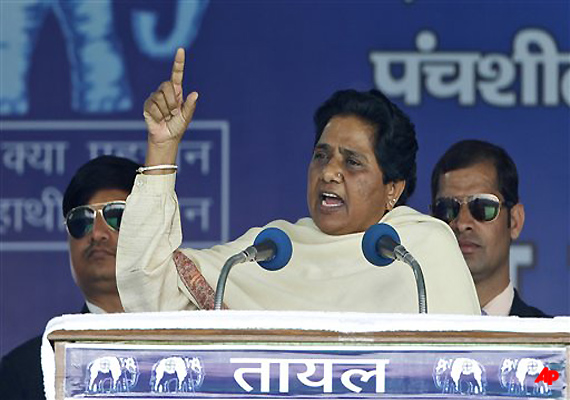 Mayawati Targets Cong, BJP; Says Both Responsible For Scams