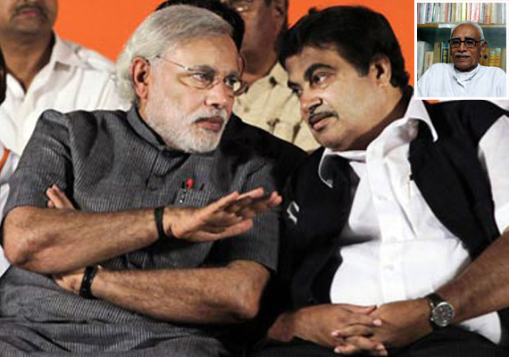Gadkari describes RSS leaer Vaidya's remarks on Modi baseless