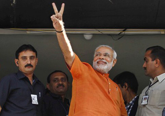 Modi wins Maninagar seat by 70,000 votes
