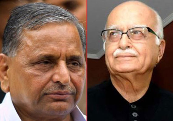 Mulayam showers praise on Advani, lashes out at  son Akhilesh for poor performance