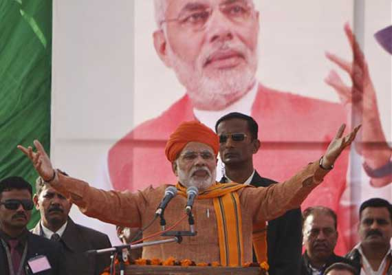 Live reporting: You can bring 'Ram Rajya', Narendra Modi tells people of UP