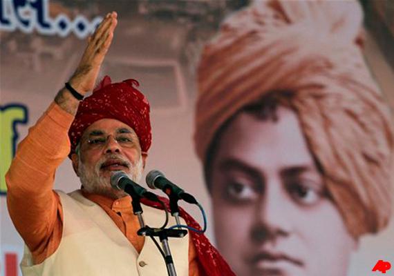 National BJP leaders praise Narendra Modi for Gujarat development