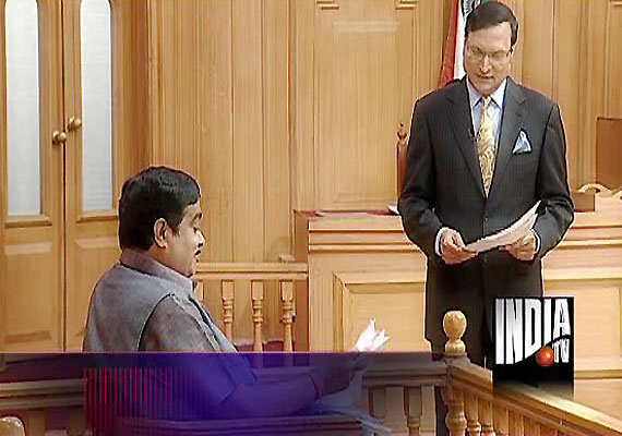 Pawars are our political rivals, but not personal enemies, Gadkari tells Adalat