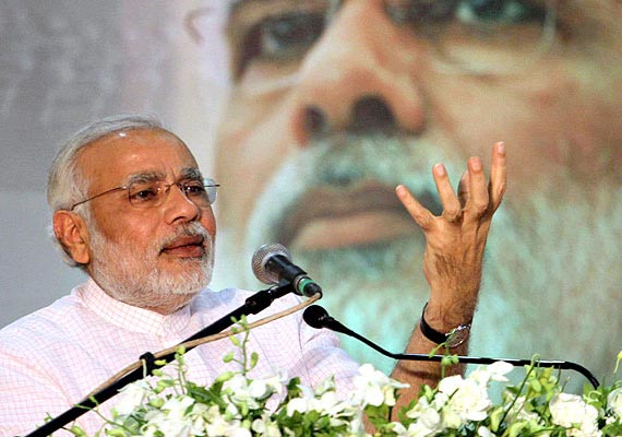 People will get Congress-free India in 2014: Modi