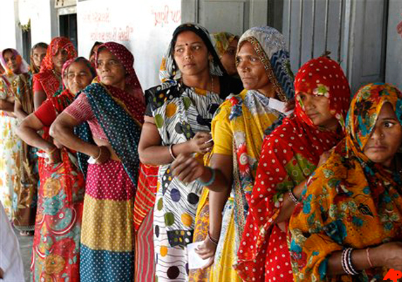 Gujarat polls: Record 67 per cent turnout in
