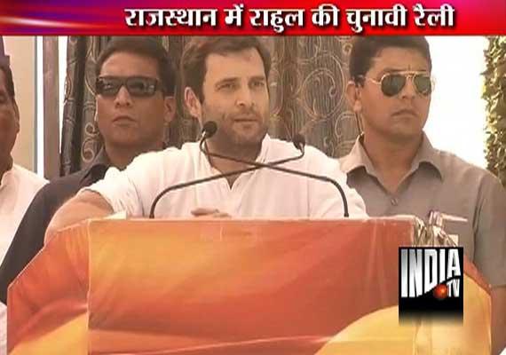 Rahul Gandhi alleges, BJP instigated riots in Muzaffarnagar, Gujarat, Jammu