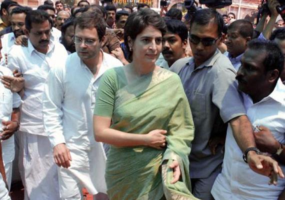 Rahul and Priyanka Gandhi