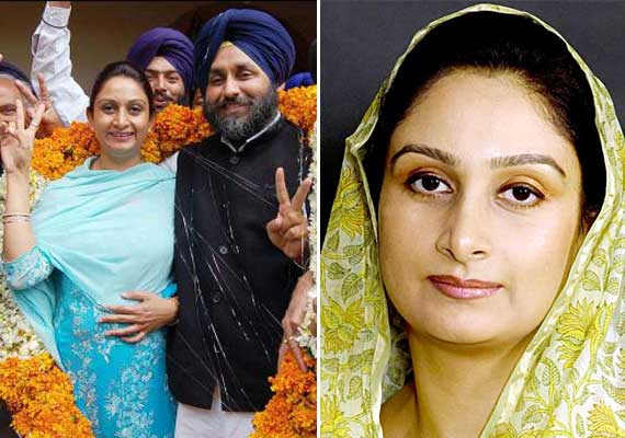 Rare pics of Punjab  Deputy CM Sukhbir Singh Badal and his wife