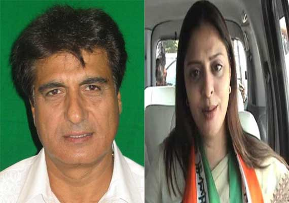 Read second list of 71 Congress candidates, Nagma from Meerut, Raj Babbar from Ghaziabad