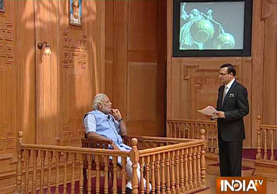 Read selective excerpts from Narendra Modi's interview to Rajat Sharma in 'Aap Ki Adalat' on India TV