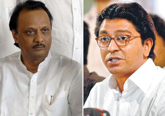 Stop mimicry, Ajit Pawar tells Raj Thackeray