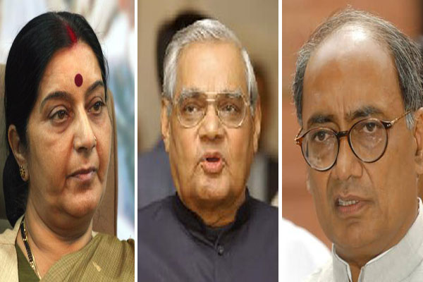 Sushma, like Vajpayee, deserves to be PM, says Digvijay Singh