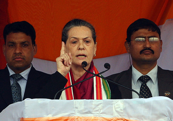 UP Has Become Mascot Of Corruption, Says Sonia