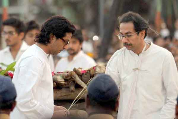 Uddhav snubbed Raj Thackeray at Balasaheb's funeral
