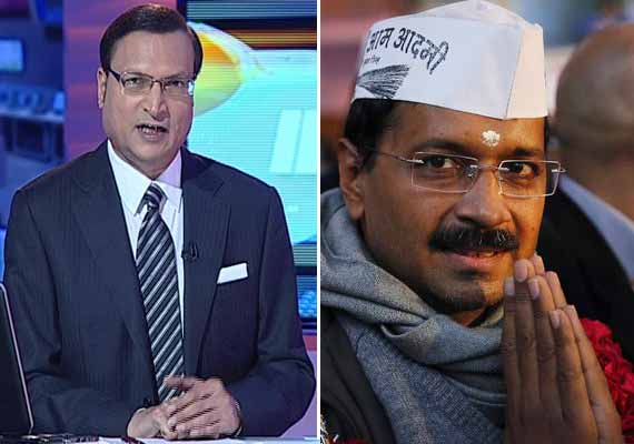 Watch how Rajat Sharma exposed Arvind Kejriwal in Aaj Ki Baat