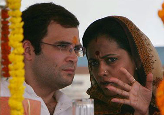 <b>Amita Singh</b> absent at Rahul&#39;s meeting with party workers - Amita_Singh_abs4154
