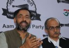 AAP expels rebel leaders Prashant Bhusan, Yogendra Yadav from party