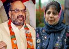 J&K govt formation: Mehbooba Mufti likely to meet Amit Shah today